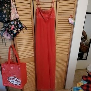 Beautiful Red Sequined Dress